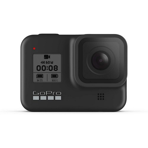 CAMARA GOPRO HERO 8 BLACK 4K, 12MP RESISTENTE AGUA